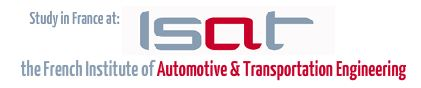 Study Automotive Engineering for Sustainable Mobility in France at ISAT