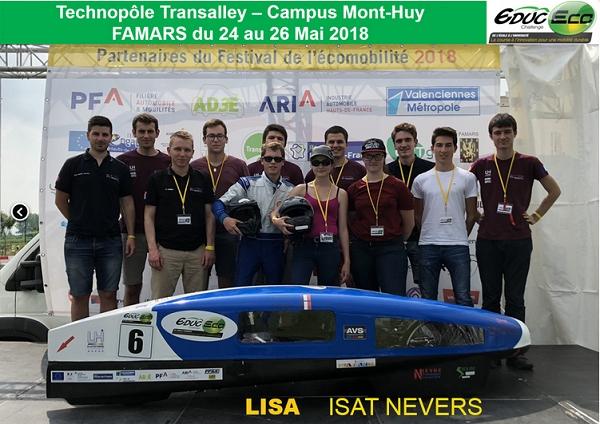 Les records de l'année du projet technologique ISAT Eco Mara...