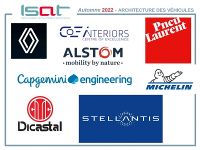 interventions à l'ISAT d'experts en architecture des véhicules